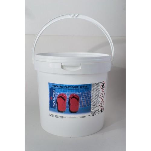 Tricloro Pasticche 200 grammi Lapi Chimici 10Kg