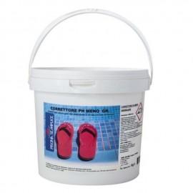 Correttore pH Meno Granulare SECCHIO 25 KG