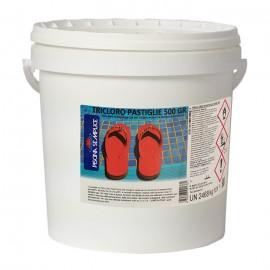 Tricloro Pastiglie 500 grammi | Mantenimento Acqua Piscina