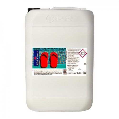 Correttore pH meno liquido|Piscina Semplice